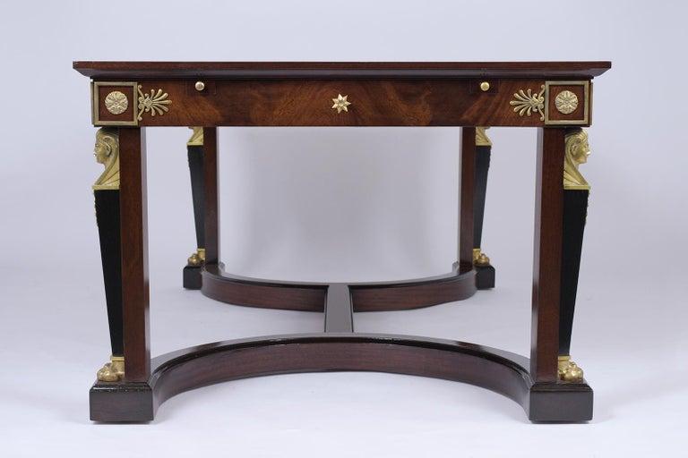 French 19th Century Empire Mahogany Desk For Sale 2