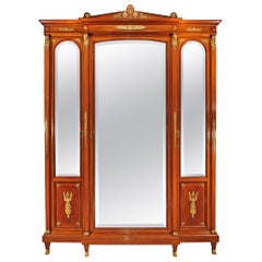 French 19th Century Empire Style Armoire