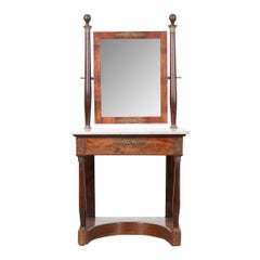 French 19th Century Empire-Style Dressing Table