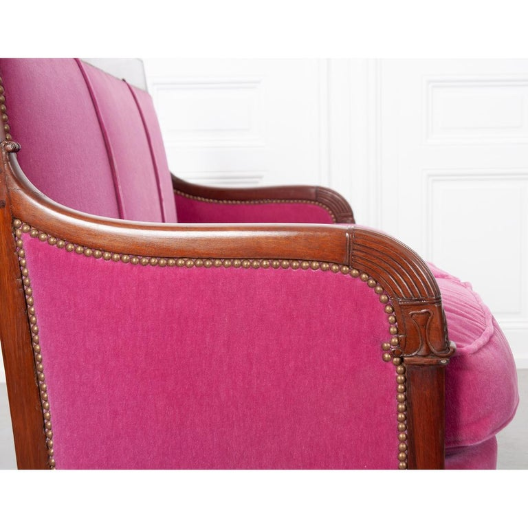 French 19th Century Empire-Style Settee For Sale 5