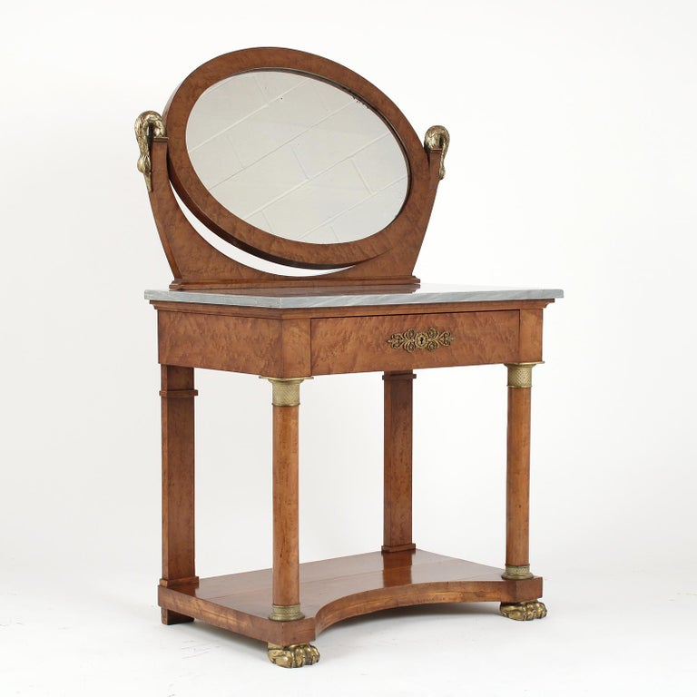 French 19th Century Empire Style Vanity For Sale 1