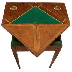 French 19th Century Envelope Game Table