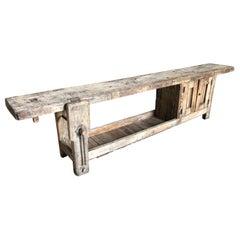 French 19th Century Etabli, Work Bench