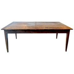 French 19th Century Farm Table