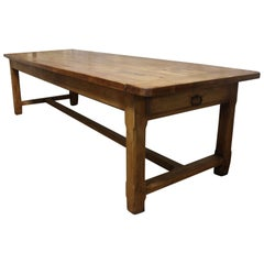 French 19th Century Farm Table