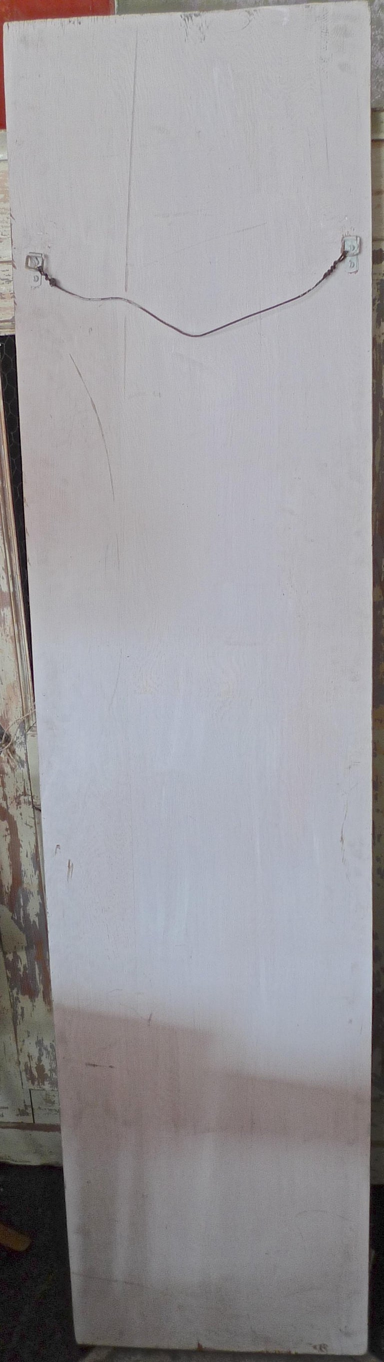 French 19th Century Faux Marble Hand Painted Framed Painting, Glass is Cracked For Sale 10