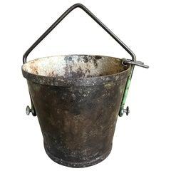 French 19th Century Foundry Bucket