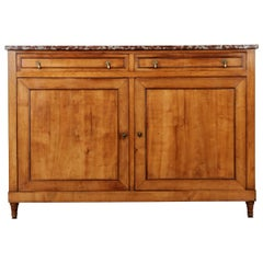 French 19th Century Fruitwood Buffet