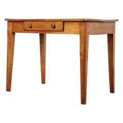 French 19th Century Fruitwood Desk Writing Table