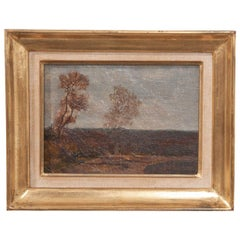 French 19th Century Gilt Framed Oil Painting