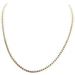French 19th Century Gold Chain