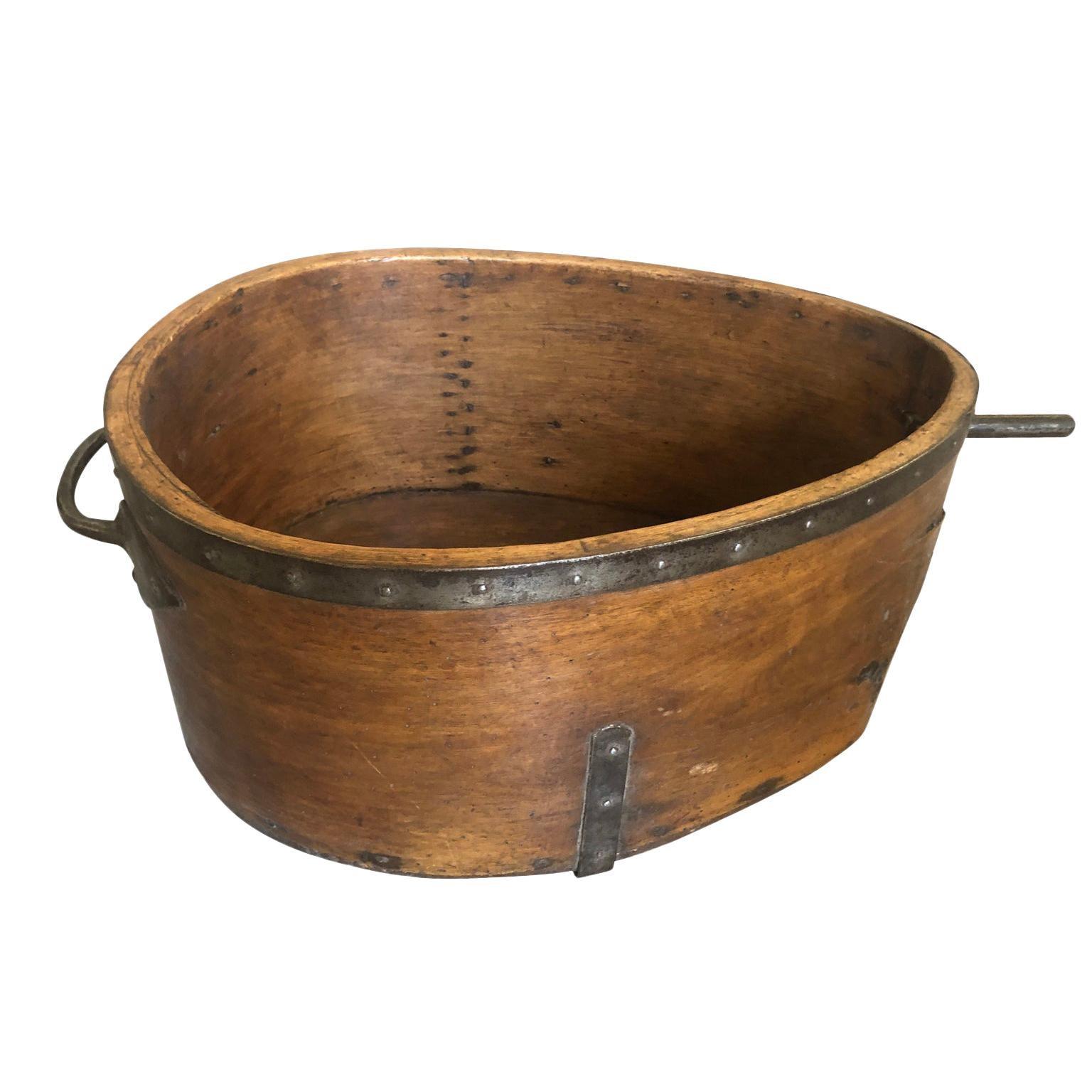 French 19th Century Grain Measure