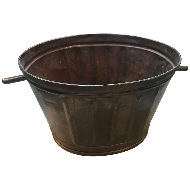 French 19th Century Grape Harvesting Baskets/Buckets For Sale