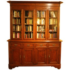 French 19th Century Library in Oak Four Doors