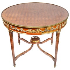 French 19th Century 'Linke' Style Centre Table