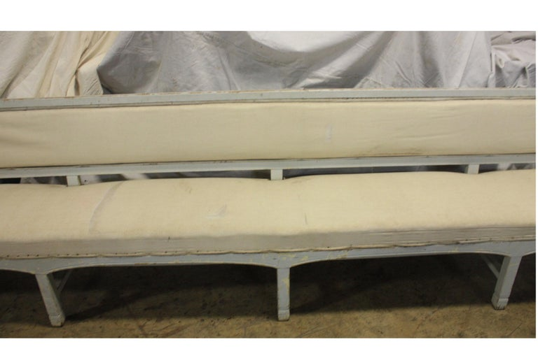 French 19th Century Long Bench For Sale 5