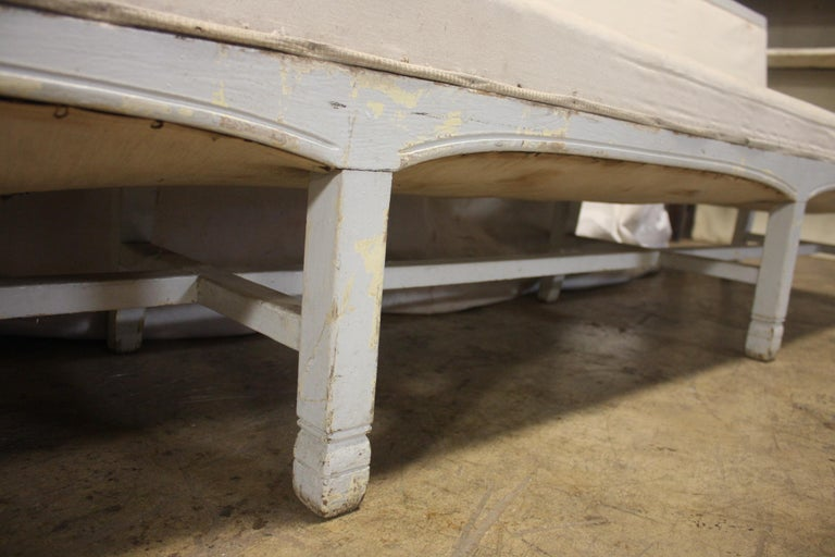 French 19th Century Long Bench For Sale 6