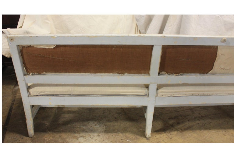 French 19th Century Long Bench In Good Condition For Sale In Atlanta, GA