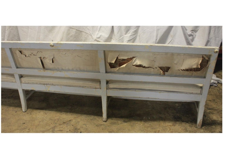 Wood French 19th Century Long Bench For Sale
