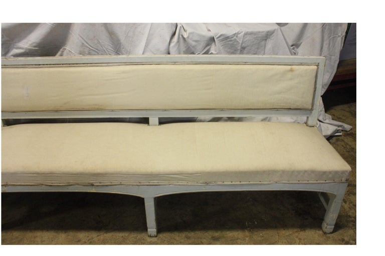 French 19th Century Long Bench For Sale 4