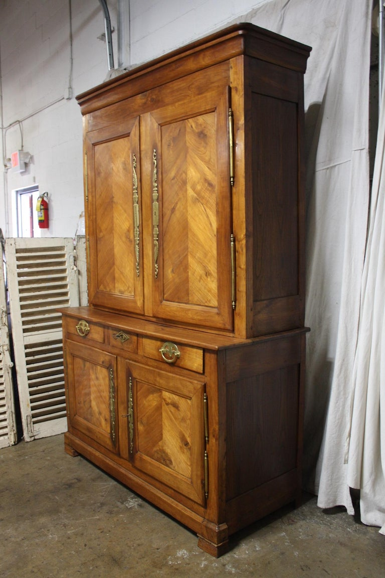 Louis Philippe French 19th Century Louis-Philippe Buffet 2Corps For Sale