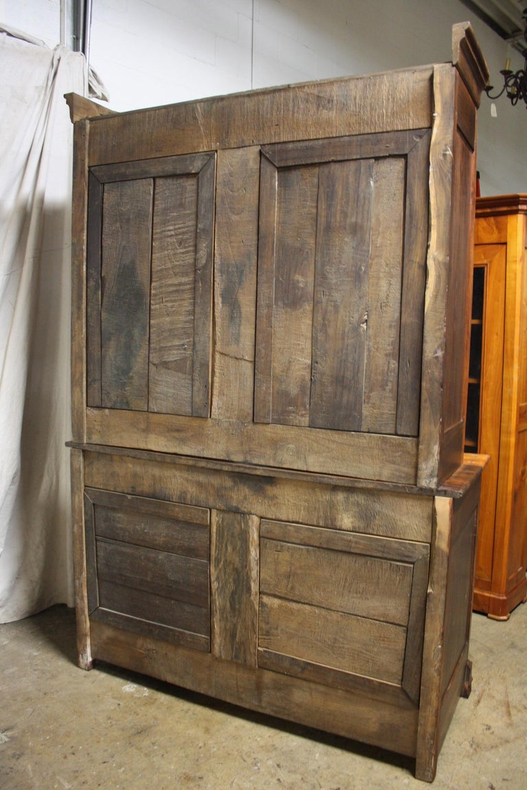 French 19th Century Louis-Philippe Buffet 2Corps In Good Condition For Sale In Atlanta, GA