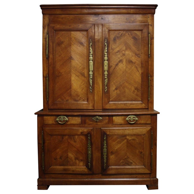 French 19th Century Louis-Philippe Buffet 2Corps For Sale