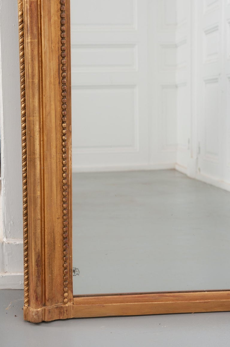 French 19th Century Louis Philippe Giltwood Mirror 2