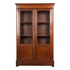French 19th Century Louis Philippe Mahogany Bibliothèque