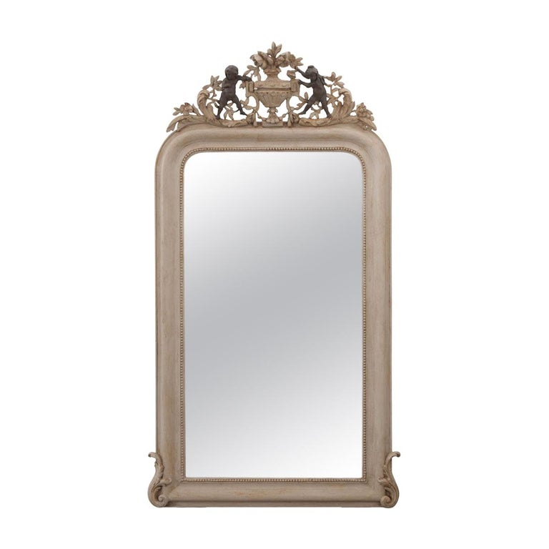 French 19th Century Louis Philippe Mirror For Sale