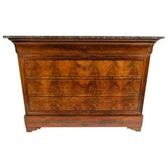 French 19th Century Louis Philippe-Style Chest of Drawers