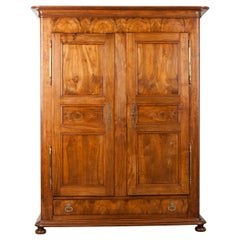 French 19th Century Louis Philippe Walnut Armoire