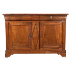 French 19th Century Louis Philippe Walnut Buffet