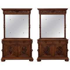 French 19th Century Louis XIII Style Buffets