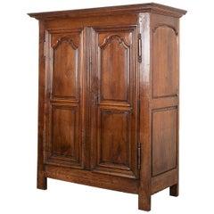 French 19th Century Louis XIII-Style Oak Armoire