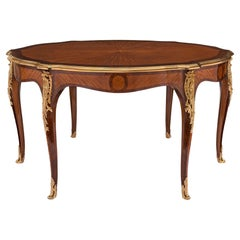 French 19th Century Louis XV St. Dining or Center Table