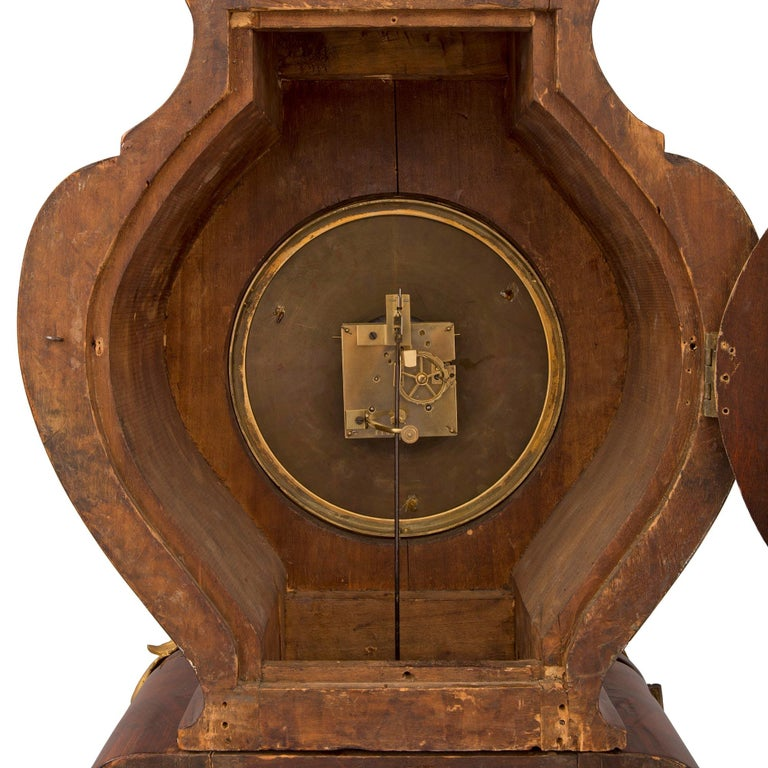 French 19th Century Louis XV St. Grandfather Clock For Sale 9