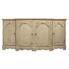 French 19th Century Louis XV St. Patinated Four-Door Buffet