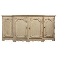 French 19th Century Louis XV St. Patinated Four Door Buffet
