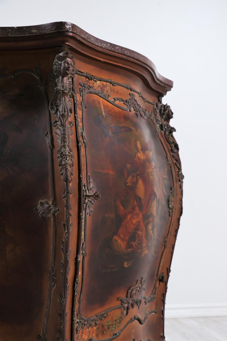 French 19th Century Louis XV-Style Bombay Chest For Sale 4
