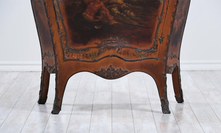 French 19th Century Louis XV-Style Bombay Chest For Sale 5