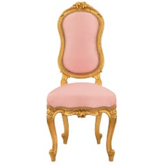 French 19th Century Louis XV Style Child's Chair