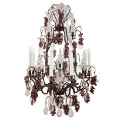 French 19th Century Louis XV Style Eight-Light Chandelier