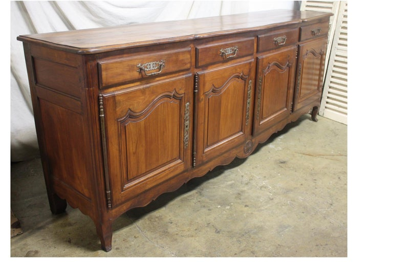 French 19th Century Louis XV Style Sideboard For Sale 2