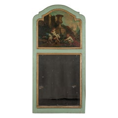French 19th Century Louis XV Style Trumeau Mirror