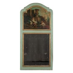 French 19th Century Louis XV Style Trumeau Mirror