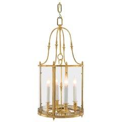 French 19th Century Louis XVI Ormolu Four-Light Ormolu Lantern