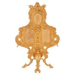 French 19th Century Louis XVI Ormolu Frame