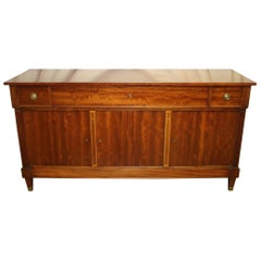 French 19th Century Louis XVI Sideboard Secretary