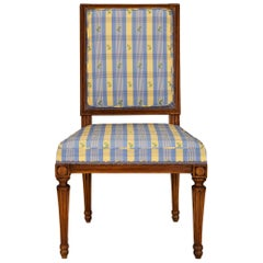 French 19th Century Louis XVI St. Beechwood Chair